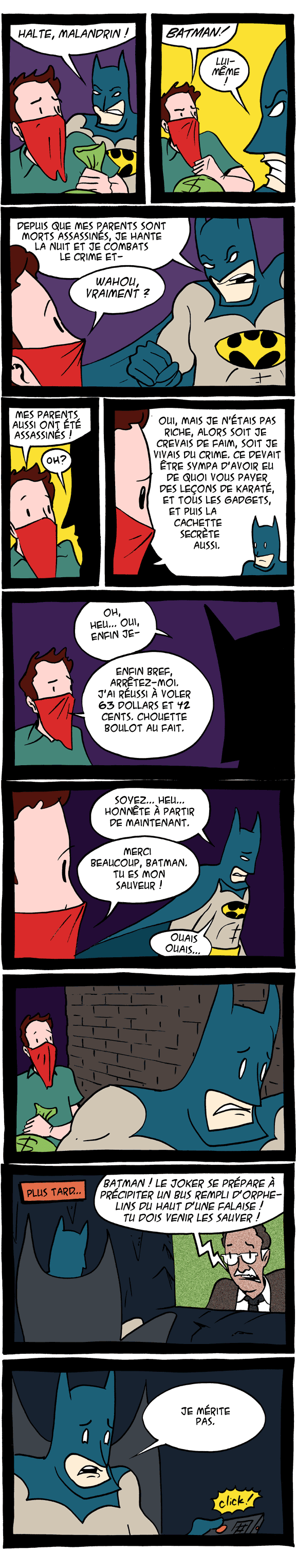le destin de Batman